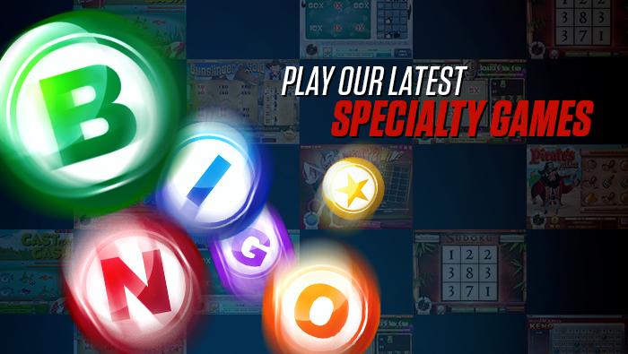 Bingo Specialty Games