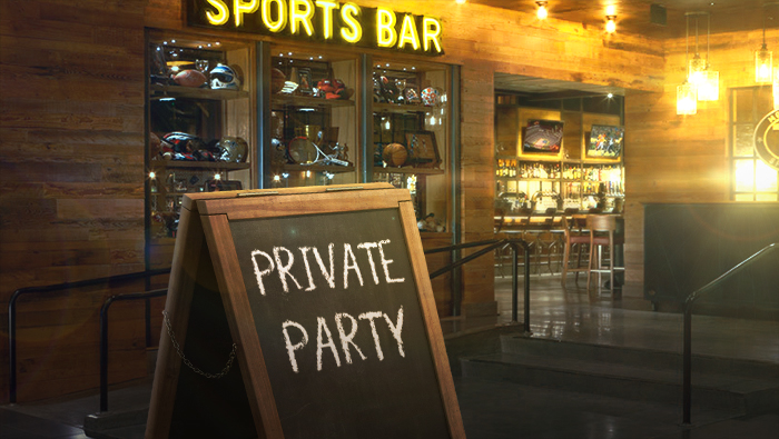 Ultimate Sports Weekend Party