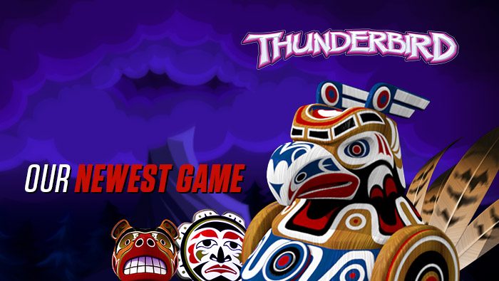 New 5-Reel, 50-Line Slot: Thunderbird - Bodog Casino Blog
