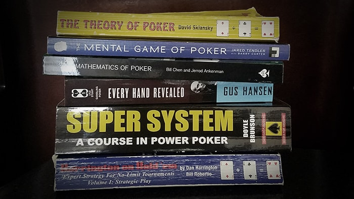 Top Five Poker Books to Increase Your Poker Knowledge