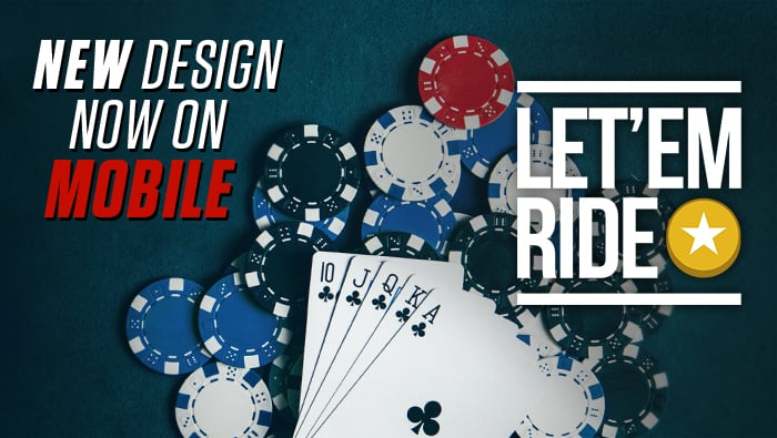Play Let 'Em Ride Mobile-Friendly Table Game at Bodog Casino