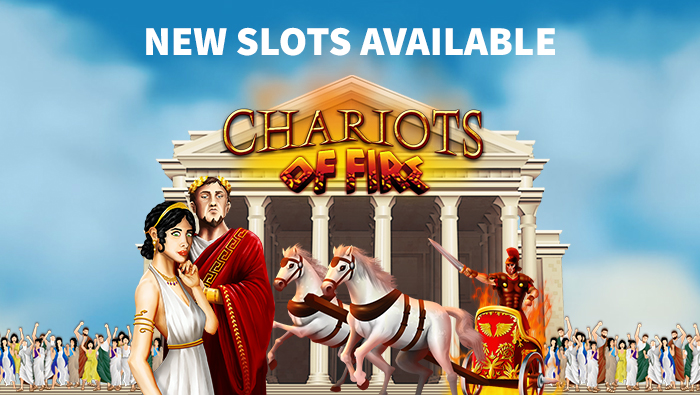 Play New Online Slot Chariots of Fire at Bodog Casino