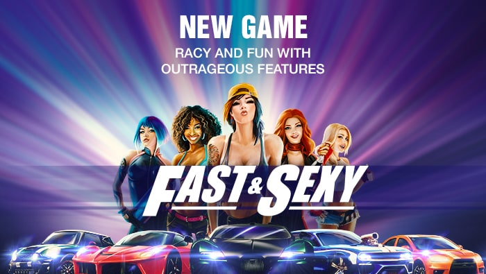 New Online Slot: Too Fast, Too Sexy at Bodog Casino