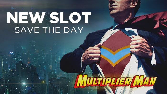 New Online Slot: Multiplier Man at Bodog Casino