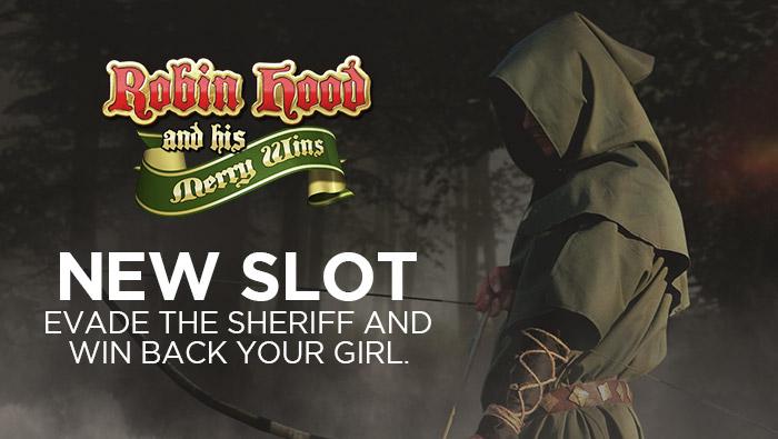 New Online Slot: Robin Hood at Bodog Casino